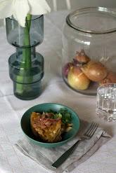Ranskalainen sipuli-pastavuoka