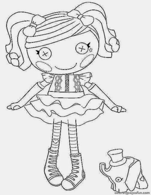 Lalaloopsy Coloring Pages Free Printable