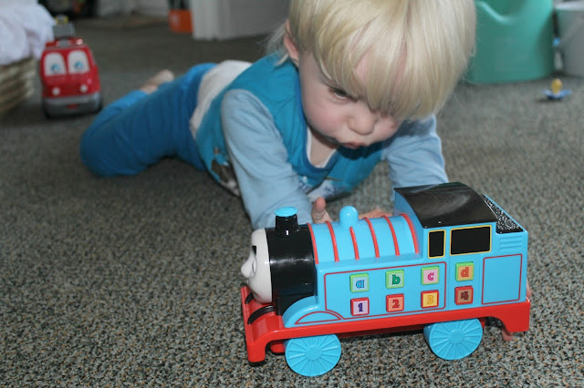 My push and learn thomas