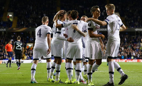 Tottenham 3 x 1 Qarabag FK - Europa League 2015/16