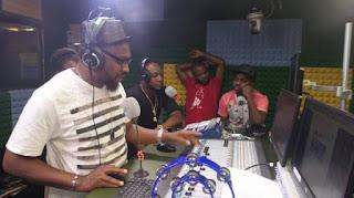 Skiibii Mayana Fully 'Resurrects', Storms Wazobia FM (Photos)