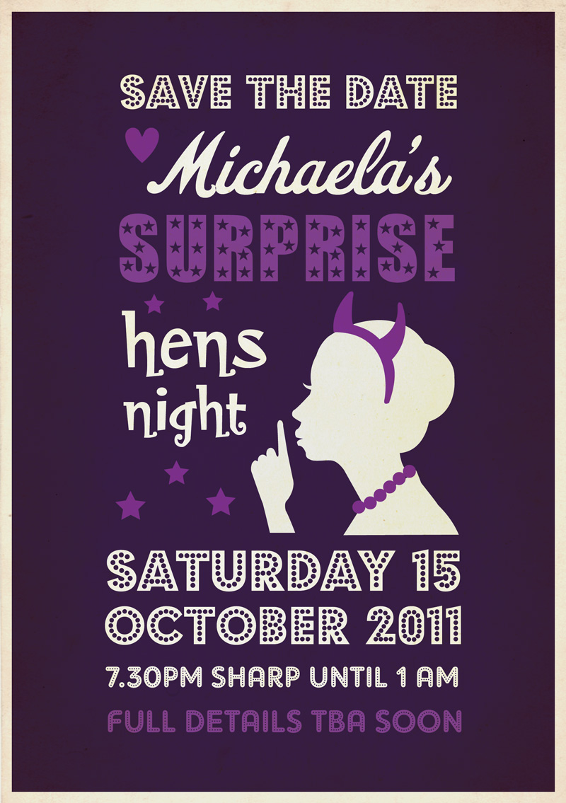krizardo.com: Hens Night Invitations