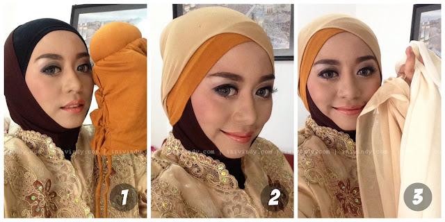 dan Vindy  Ini Yang Make Tutorial Ala Natural natural pesta tutorial Hijab   Wisuda untuk Up makeup Ajaib: