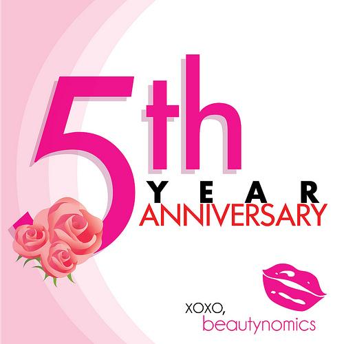 5th Year Anniversary: The Beauty Bin