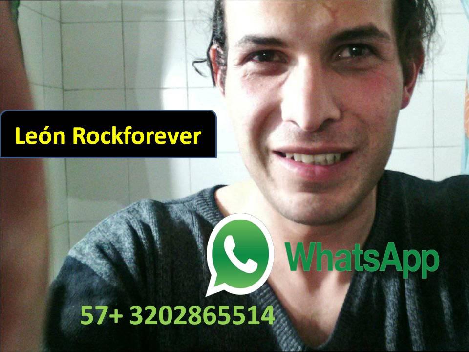 León Rockforever Whatssap