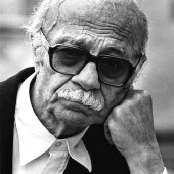Foto en blanco y negro del escritor argentino Ernesto Sábato
