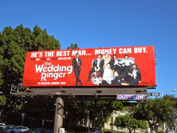Wedding Ringer movie billboard