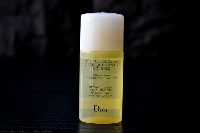 Dior Instant Gentle Cleansing Oil Review