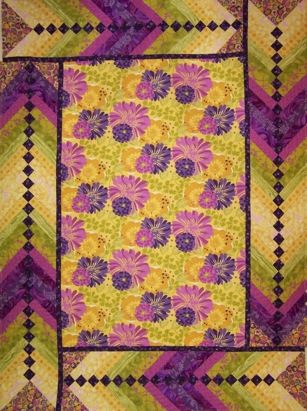 Braided Quilt Border Pattern Home : Cactus Quilters