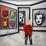 Warhol and His Marilyn's - Commission