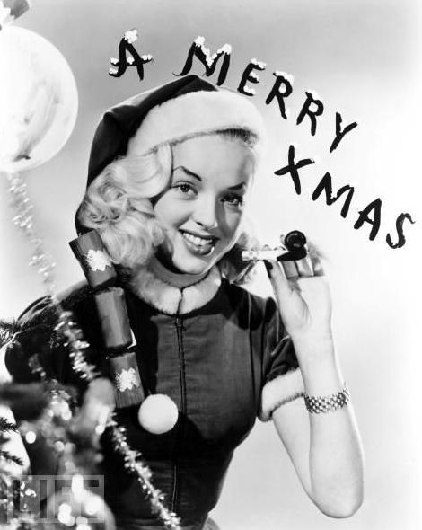 Diana Dors Christmas