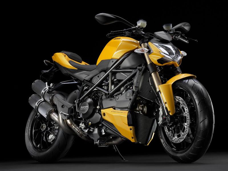 2012 Ducati Streetfighter 848 Naked Sportbike