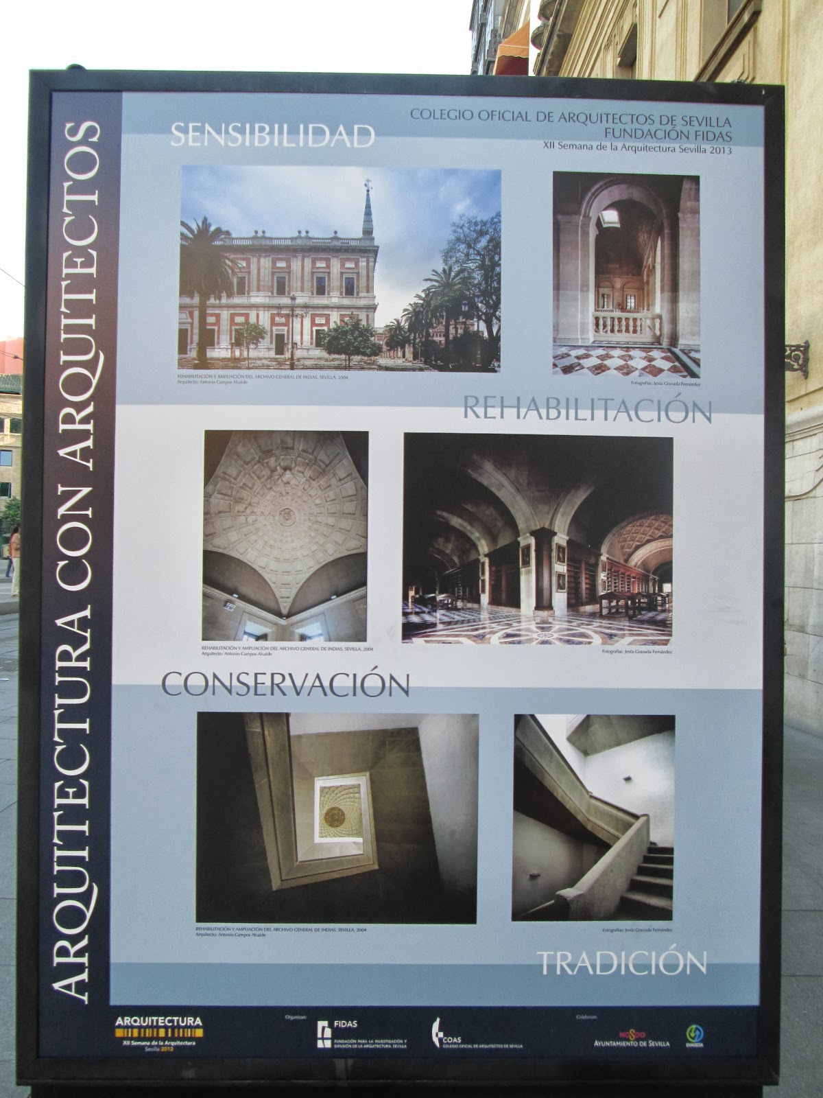 Arquitectura campos alcaide la rehabilitaci n del archivo - Arquitectura tecnica sevilla ...