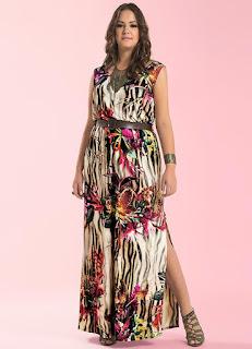 modelo de vestido com fenda - fotos e dicas
