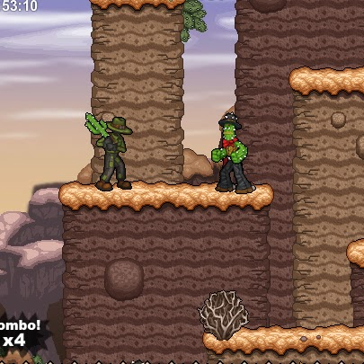 Cactus McCoy and the Curse of Thorns FLASH GAME