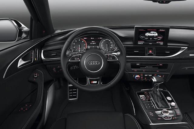 2013 Audi S6 Avant Front Interior