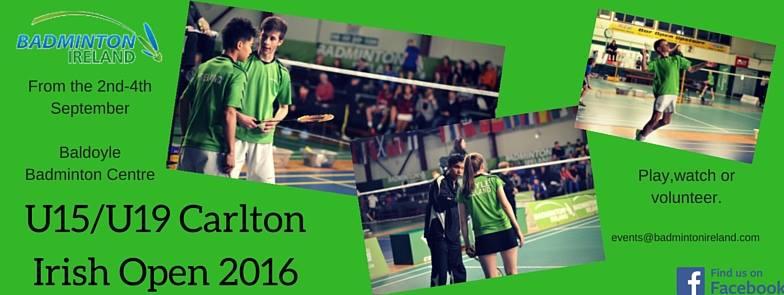 Irish U19 open 2016