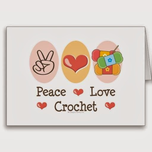 Peace Crochet Love