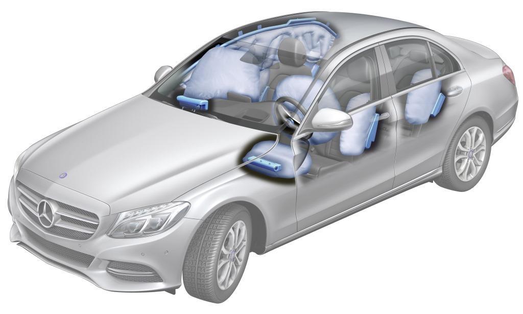 lanzamiento mercedes benz clase c autoblog uruguay ForMercedes Benz Airbags