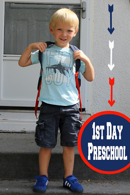 first day preschool picture