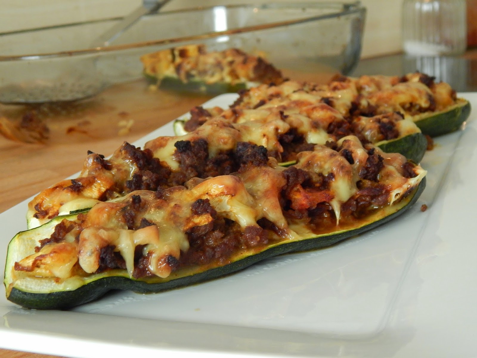 Leylas leckereien arabisch kochen gef llte zucchini mit for Kochen zucchini