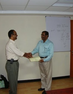 PMP Training Programme Certification Distribution
