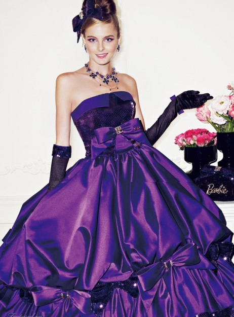 Barbie Inspired Wedding Dresses Gowns 2012   wedding bridal ideas