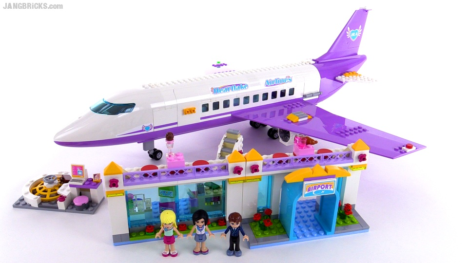lego friends airplane instructions 41109