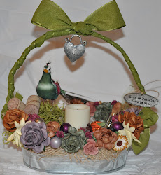 Rustic Harvest Fall Basket
