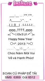tin-nhan-xep-hinh-chuc-tet-2013