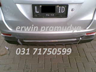 Toyota All New Avanza Bumper Belakang