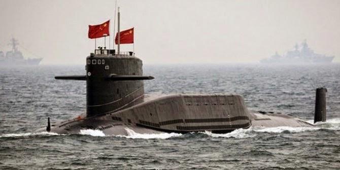 Kapal Selam China bertenaga nuklir