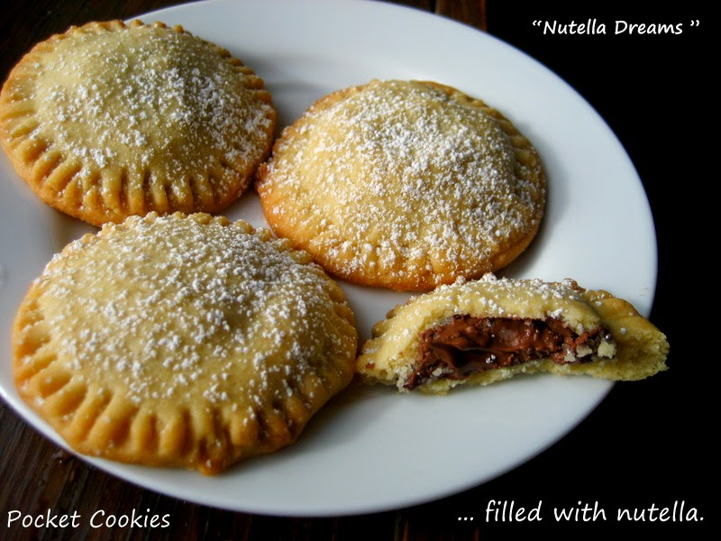 "Home Cooking In Montana: Nutella Pocket Cookies... Nutella ""Dreams"""