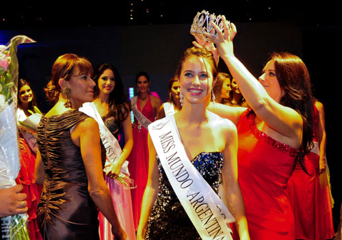 Antonella Kruger,Miss Mundo Argentina 2012 Winner