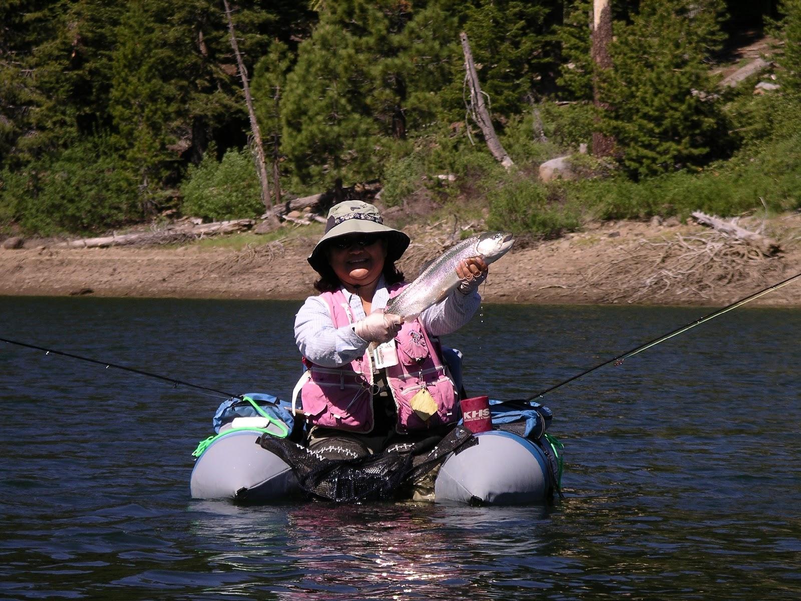 Sawmill Lake Fly Fishing 2015