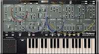 Roland System-100 Plut-Out software Synth image