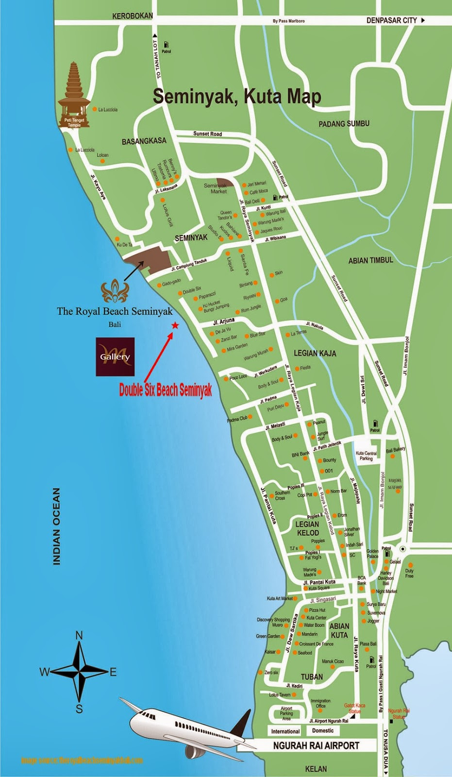 Bali weather forecast and bali map info detail double for Bali accommodation seminyak