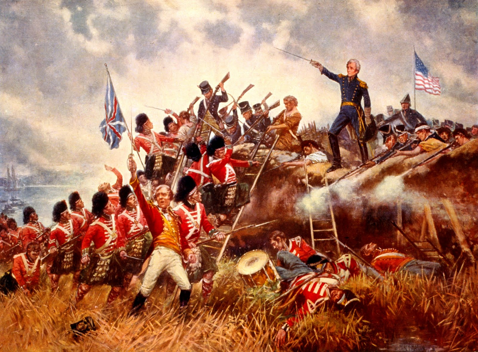 andrew jackson and the battle of new orleans The battle of new orleans was fought between forces under american general  andrew jackson (later president jackson) and british general.