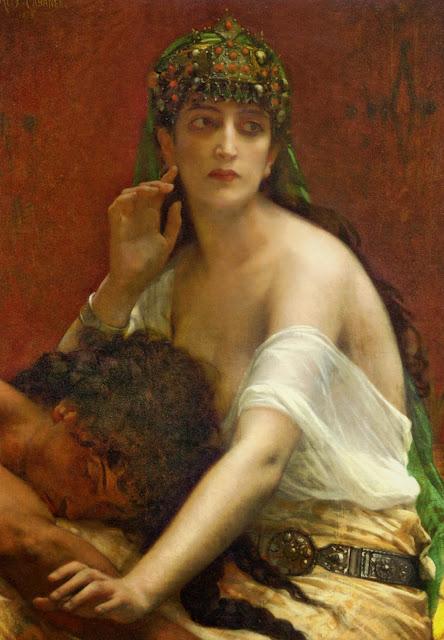 Samson,Delilah,alexandre cabanel
