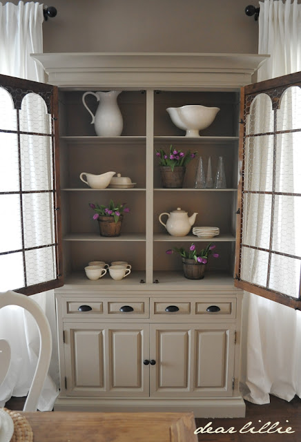 What To Put In A China Hutch