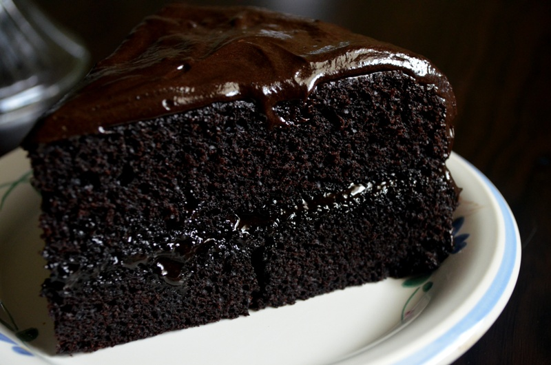 How To Make A Double Chocolate Cake From Scratch