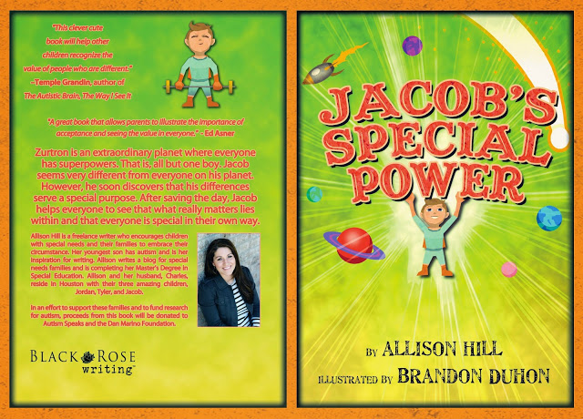 Purchase Jacob's Special Power here: