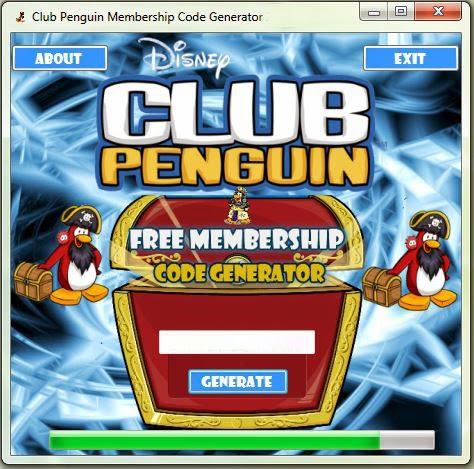 Club Penguin Membership Code Generator 2015 Free Download