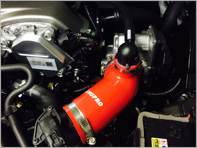Mazda MX-5 Roadster ND Intake Induction Kit from Nopro Nogami Project