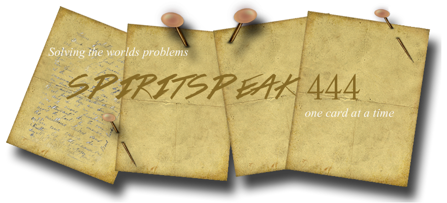 Spirit Speak 444