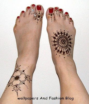Indian and pakistani mehandi designs