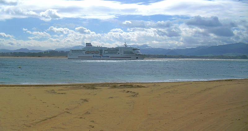 Ferry en Santander
