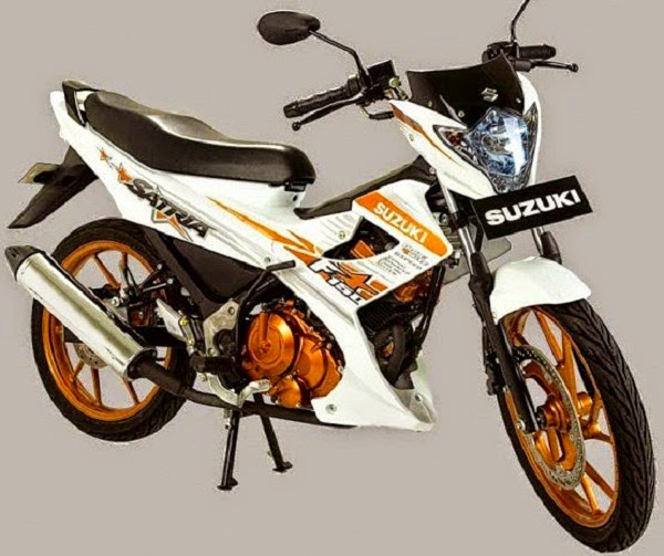 Suzuki Satria FU150 White Fighter