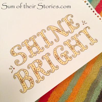 Shine Bright doodle