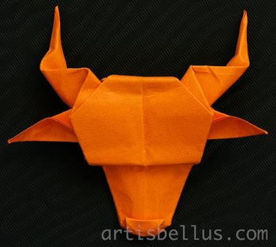 Origami Longhorn